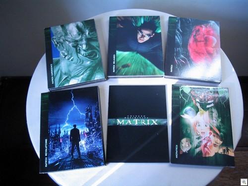 Matrix 10 DVDs